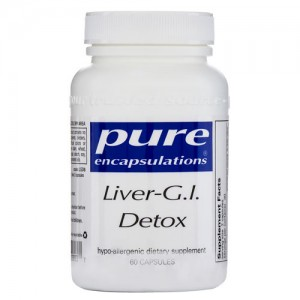 Pure Encapsulations body cleanse detox
